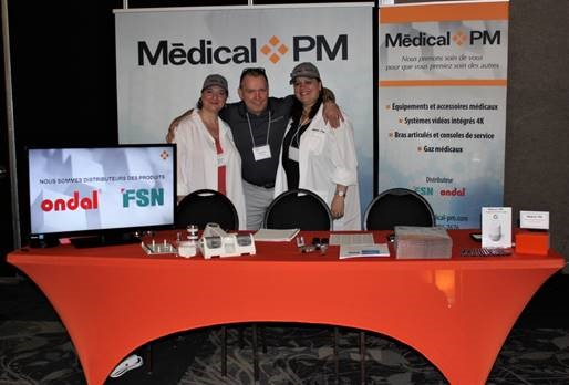On April 28, 2018, Medical PM participated in the Congress of the ATGBM in Drummondville